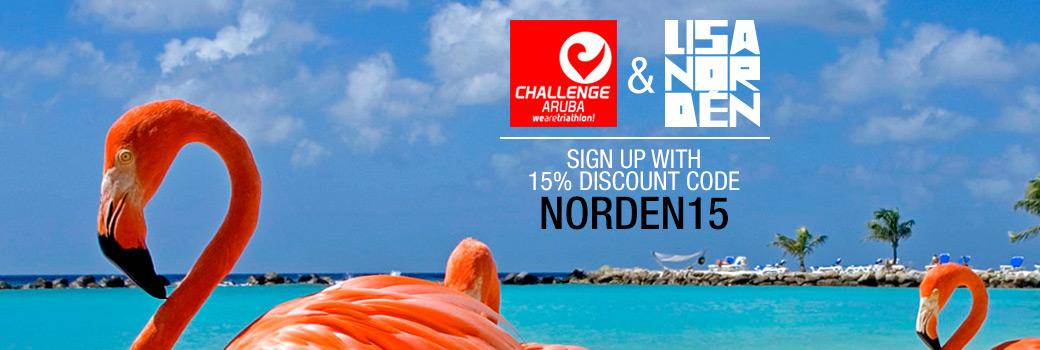 Lisa Nordén Challenge Aruba