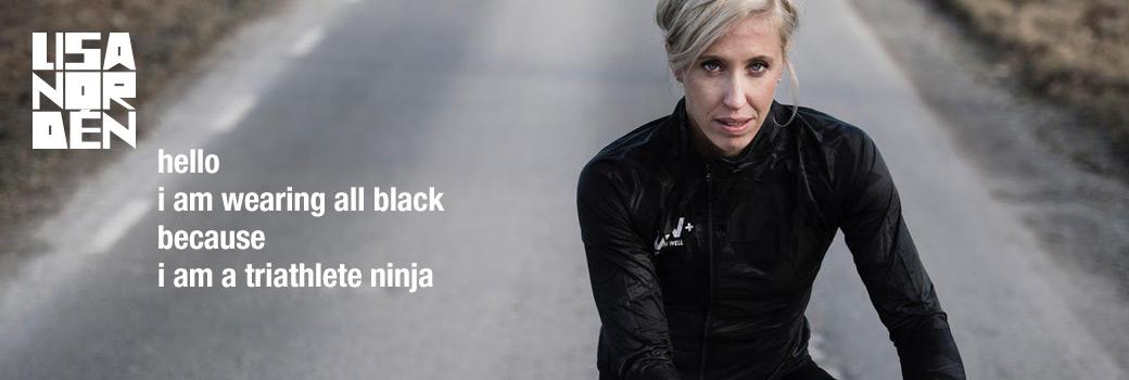 Lisa Nordén thriatlete ninja