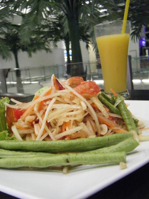 papaya sallad in bangkok