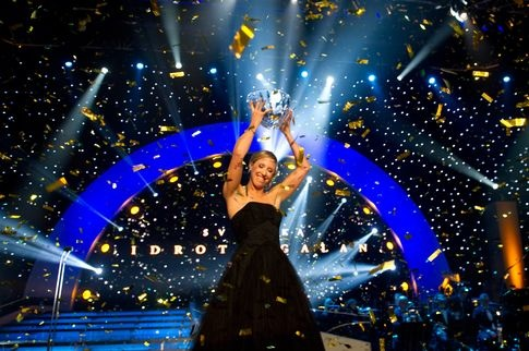 Lisa Norden vinner fyra priser på Svenska Idrottsgalan