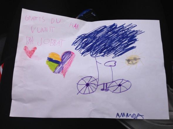 Amandas teckning