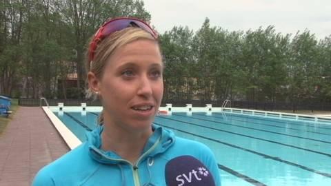 Lisa Nordén möter SVT på Huvudstabadet