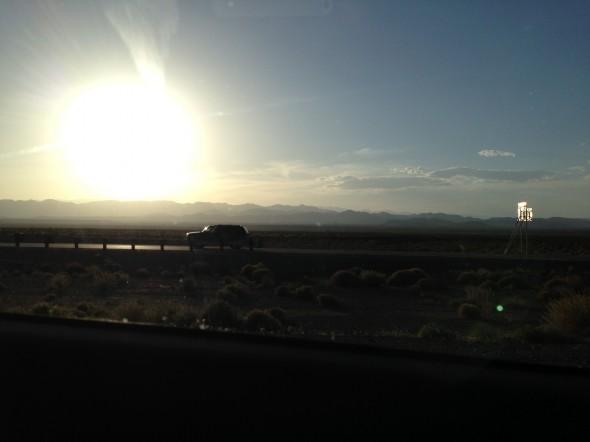 Lisa norden mot Utah