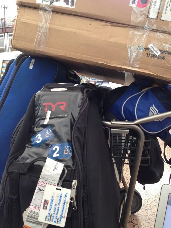 min smidiga packning på väg till Boulder