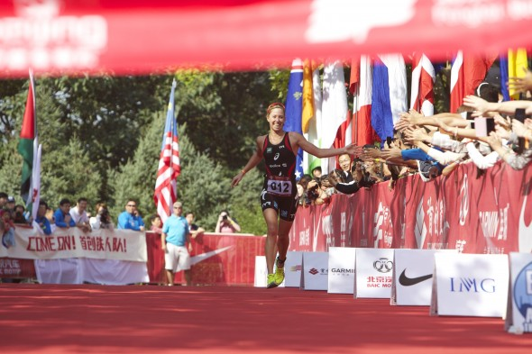 Lisa Norden vann Beijing International Triathlon 2013