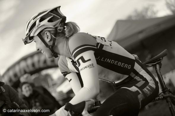 Lisa Norden efter CX SM 2013