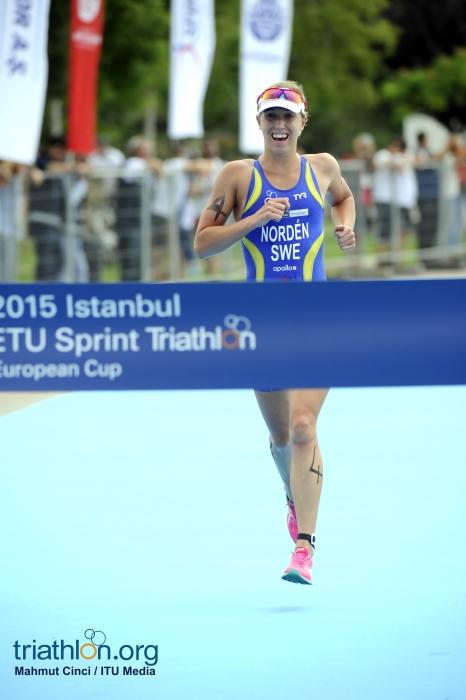 lisa norden wins Istanbul european cup