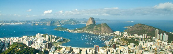 Test av OS banan i Rio de Janeiro