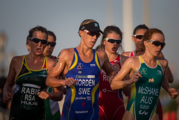 Lisa Norden run abu dhabi