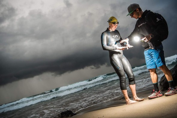 Lisa Norden och Calle Friberg Open Water Swim La Pared