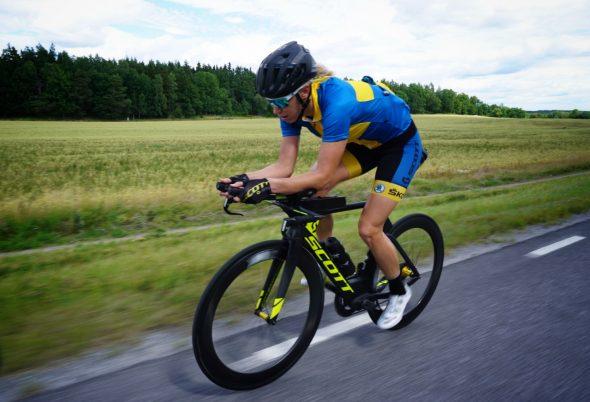 Tidssvarende Lisa Nordén, elit triathlete » EM Tempo på ingång LP-94
